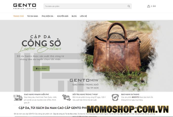 Gento Leather - Shop bán túi xách da nam tại Hà Nội được giới trẻ ưa chuộng
