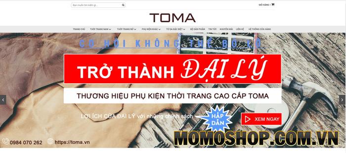 TOMA - Chất lượng đảm bảo, giá cả phải chăng