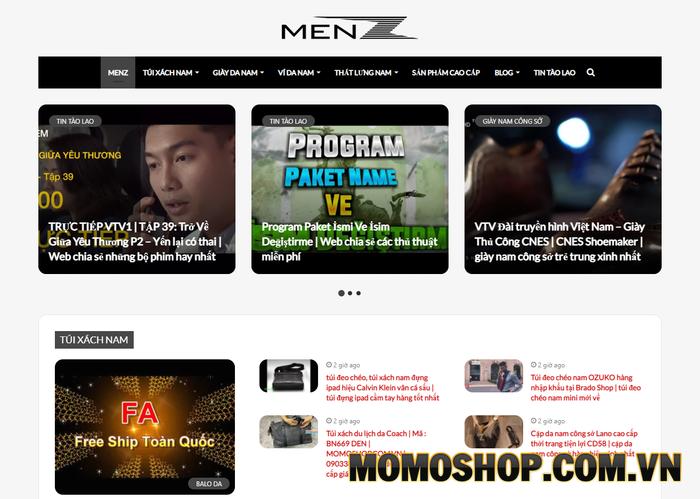 MenZ - Shop đồ da với chất lượng vượt trội