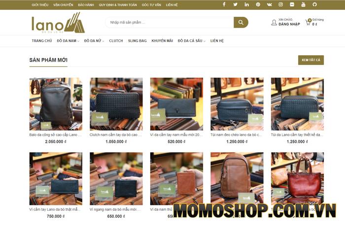 Lano.vn - Shop cung cấp túi đeo chéo nam da thật chất lượng