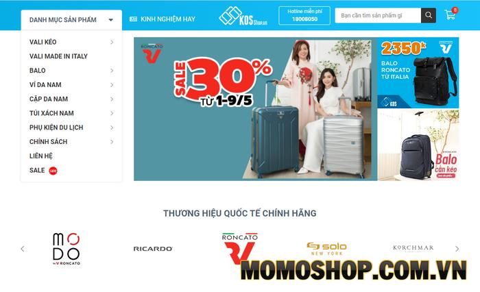 KOS Shop - Nơi mua sắm uy tín, chuyên nghiệp được nhiều người tin tưởng