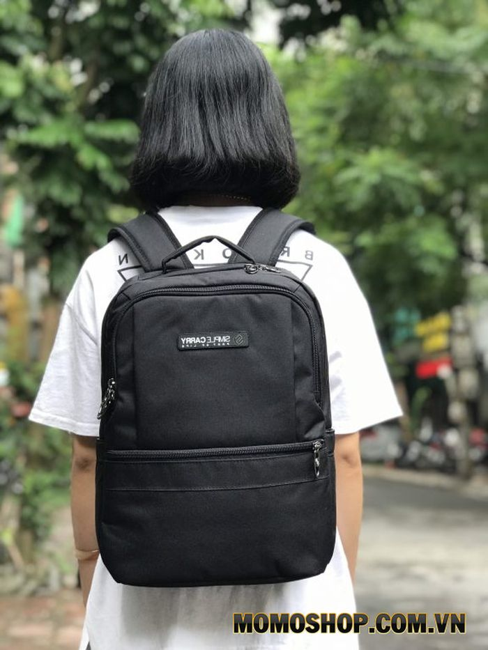 Balo laptop 13 inch giá rẻ Simple Carry Issac6