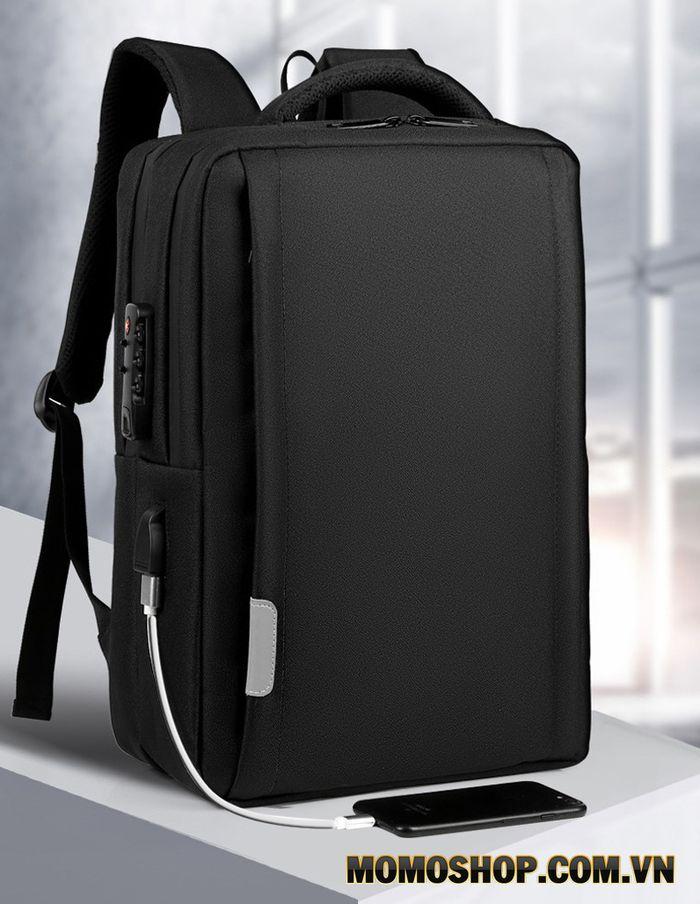 Balo laptop 15.6 inch, Macbook chống sốc khóa mật mã