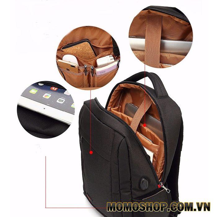 Balo laptop 15 inch giá rẻ Poso PS602 chính hãng