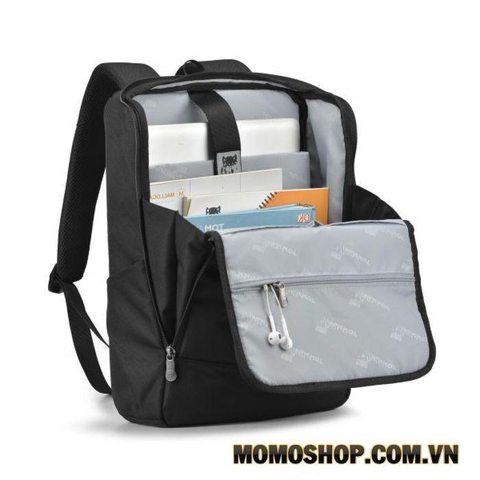 Balo laptop Mikkor Lewie Backpack dành cho laptop Dell 15.6 inch