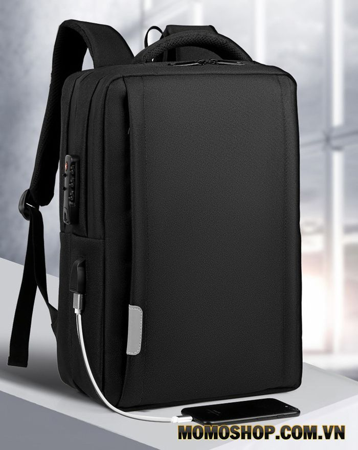 Balo laptop 15.6 inch OEM khóa mật mã phù hợp với laptop Lenovo 15.6 inch
