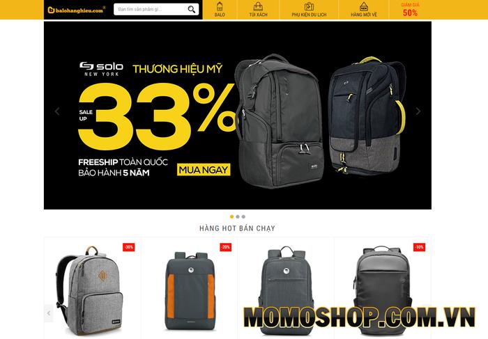 Balo Hàng Hiệu - Nơi bán balo laptop giá rẻ, chất lượng