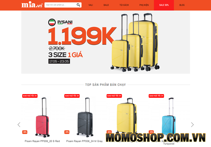 MIA.vn - Nơi bán balo laptopđẹp của nhiều thương hiệu