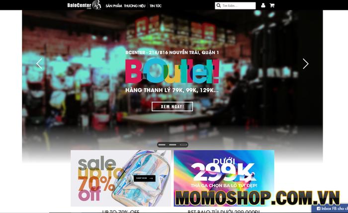 BaloCenter - Shop bán balo laptop đẹp tại tphcm được các bạn trẻ yêu thích