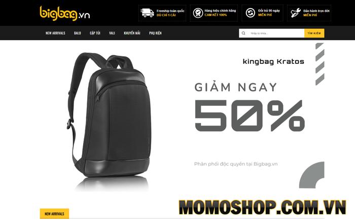 Bigbag - Cửa hàng chuyên bán những mẫu balo laptop siêu đẹp