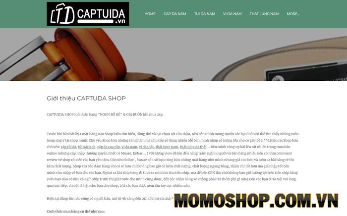 Captuda - Nơi mua balo laptop nam sành điệu
