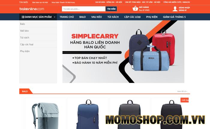 Baloonline.com - Nơi mua sắm dành cho sinh viên