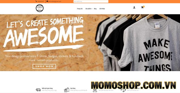 Thời trang Everest - Chuyên kinh doanh online các mặt hàng thời trang nam nữ với giá cả và chất lượng tốt