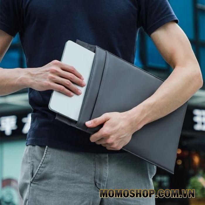 Túi da đựng Macbook 13 inch Baseus Let's Go