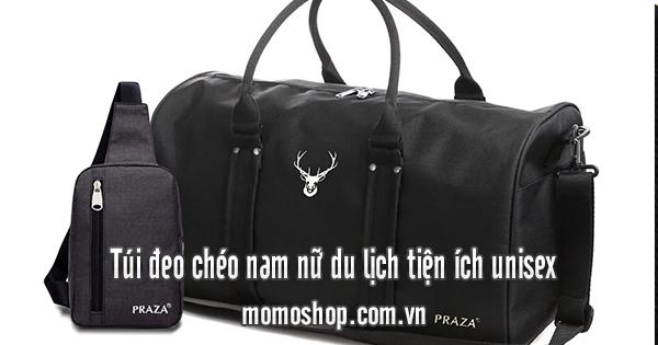 Túi đeo chéo nam nữ du lịch tiện ích unisex