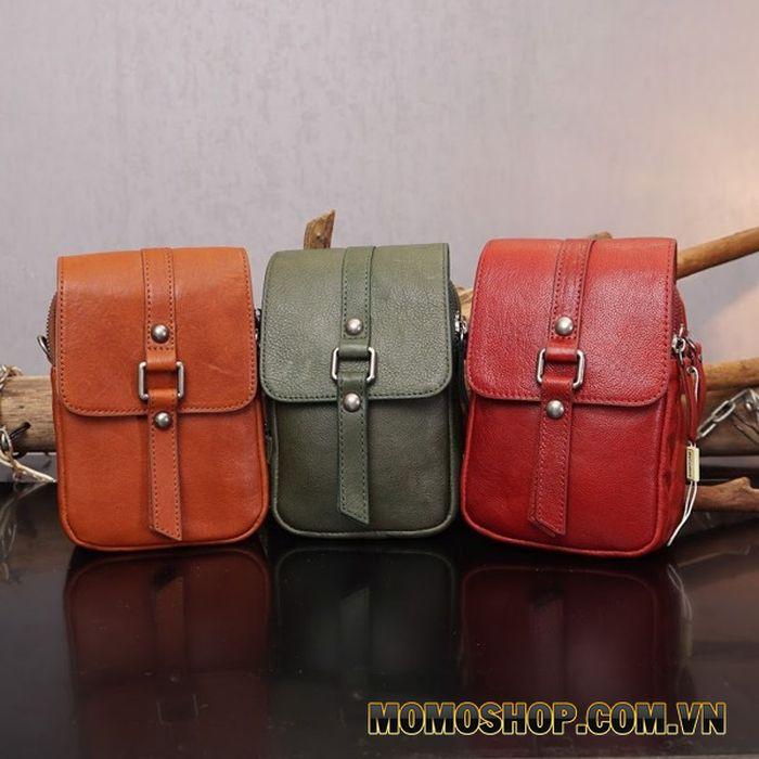 Túi đeo chéo nữ mini đa năng nhuộm da thảo mộc - 1704796
