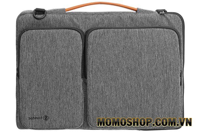 Túi laptop Tomtoc A42 xám - Dành cho phụ nữ bận rộn với họa tiết nổi bật