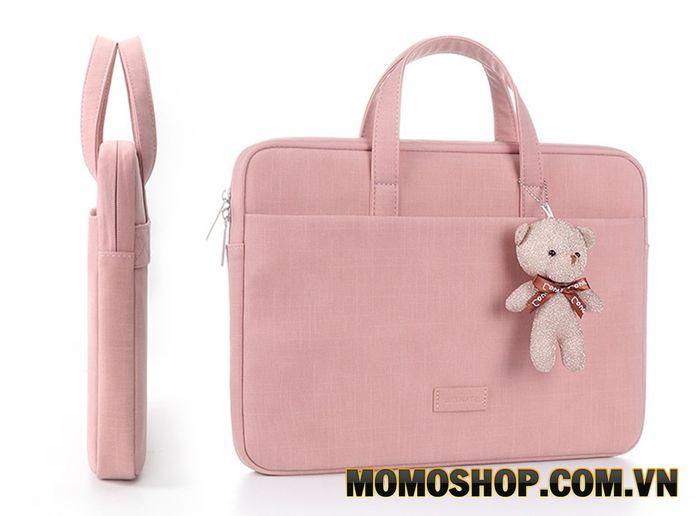 Túi xách Taikesen - Kiểu dáng hiện đại, dễ thương đựng vừa laptop 13 đến 14 inch