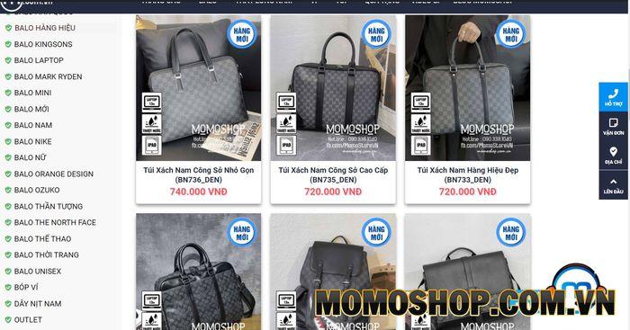 TOP 3 lý do bạn nên chọn mua túi xách đựng laptop tại Momoshop