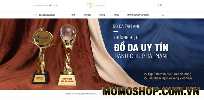 Thế giới đồ da Tâm Anh - Chuyên kinh doanh thắt lưng nam da thật chất lượng, uy tín tại Hà Nội