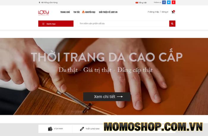 Đồ da Lody - Thương hiệu uy tín tại Hà Nội chuyên bán thắt lưng nam da thật