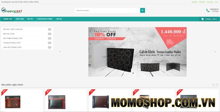 One Shop 247 - Chuyên kinh doanh các mặt hàng thời trang da cao cấp