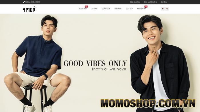 4men Shop - Chuyên kinh doanh các mặt hàng thời trang cao cấp