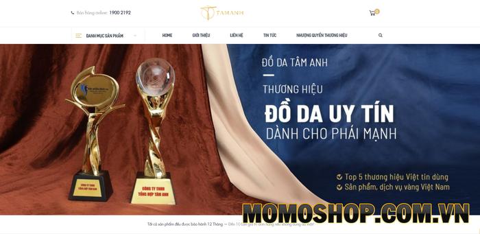 Tâm Anh - Thương hiệu đồ da uy tín tại Việt Nam