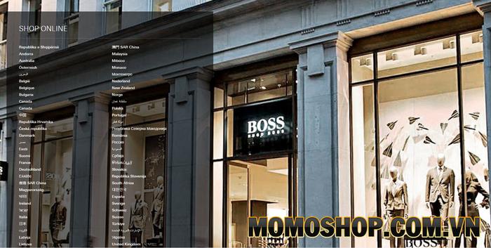 Hugo Boss - Thương hiệu thời trang uy tín tại Đức