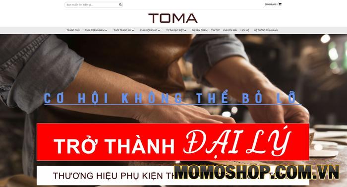 Toma Fashion - Thương hiệu uy tín, chất lượng, dịch vụ chuyên nghiệp