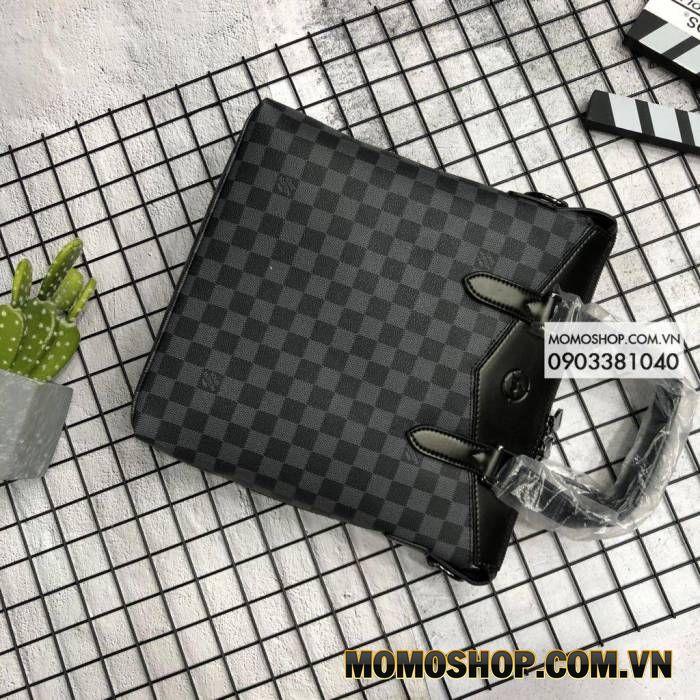 Túi xách laptop 11 inch cao cấp Louis Vuitton BN517 Xanh dương