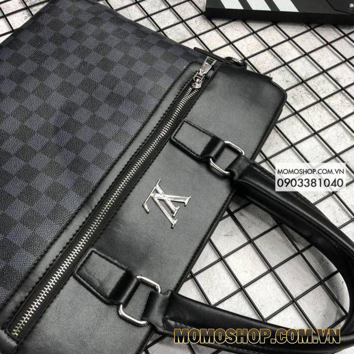 Túi xách laptop hàng hiệu Louis Vuitton BN515 Xanh Dương