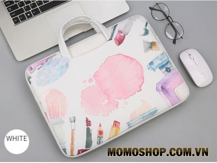 Túi Xách Thời Trang NữBằng Da Đựng Laptop - Macbook Thương Hiệu Brinch