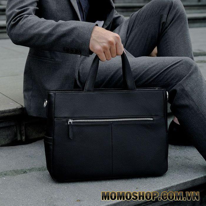 Túi xách laptop đen basic