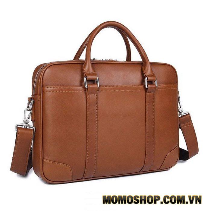Túi xách laptop nam da bò dáng công sở thời trang