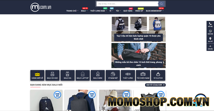 Momoshop - Cửa hàng đang rất được yêu thích