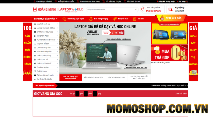 Laptopworld - Địa chỉ uy tín luôn nhận được sự yêu thích từ khách hàng