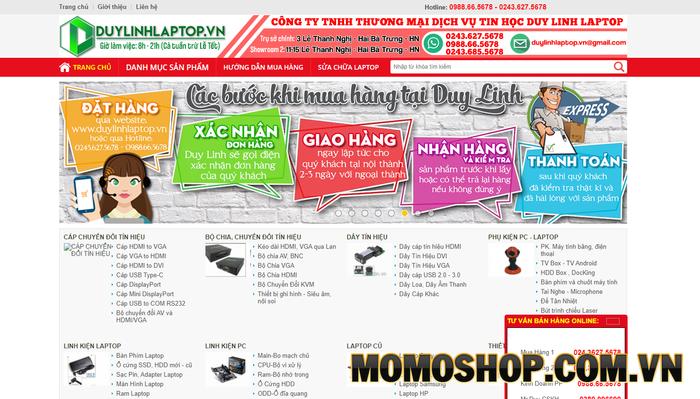 Duy Linh Laptop - Shop bán túi xách laptop chất lượng và uy tín