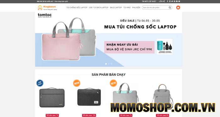 Kingbason - Thương hiệu bán túi xách laptop nữ đa dạng