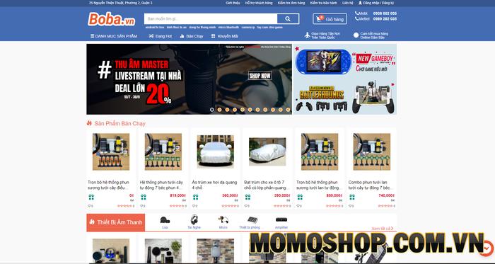 Boba.vn - Túi xách laptop chất lượng, giá rẻ phục vụ mọi nhu cầu của khách hàng