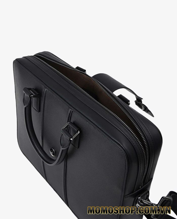 Túi xách laptop nam hình chữ nhật Pedro Textured