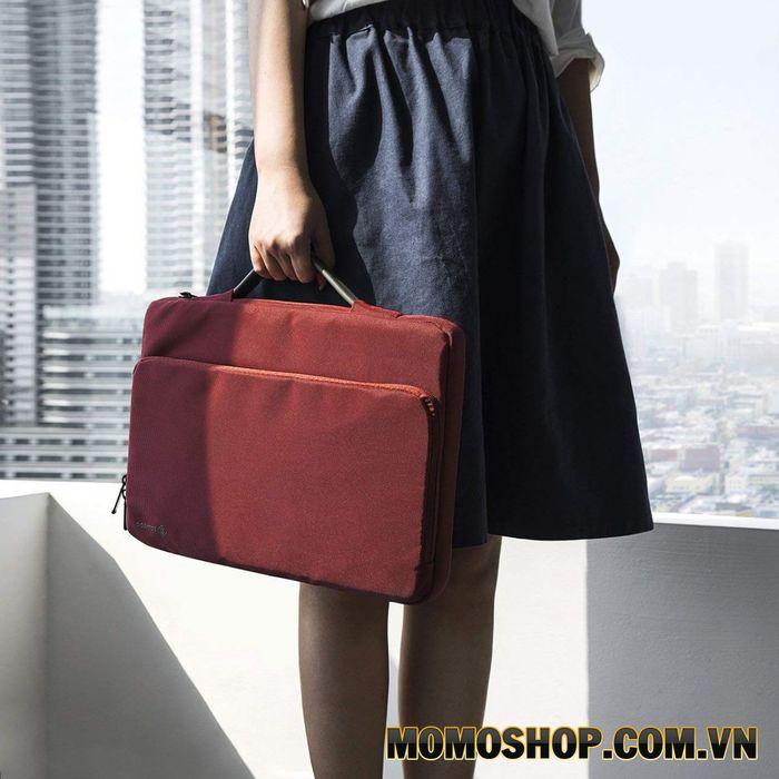 Túi xách vải laptop nữ Tomtoc A14-D01B Briefcase MB Pro