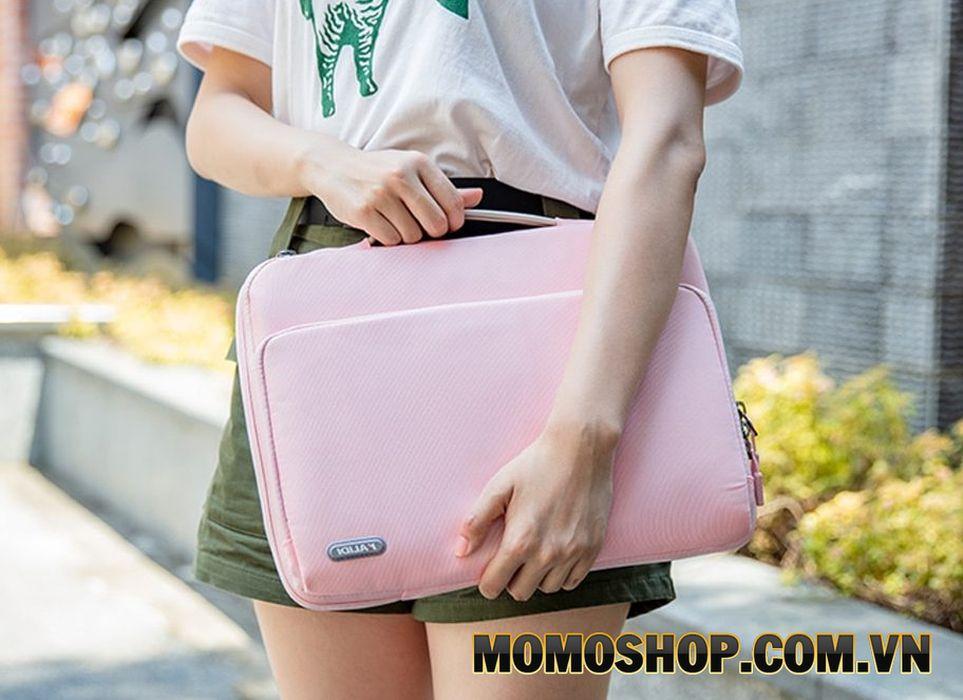 Túi xách vải laptop nữ chống sốc Kalidi K346