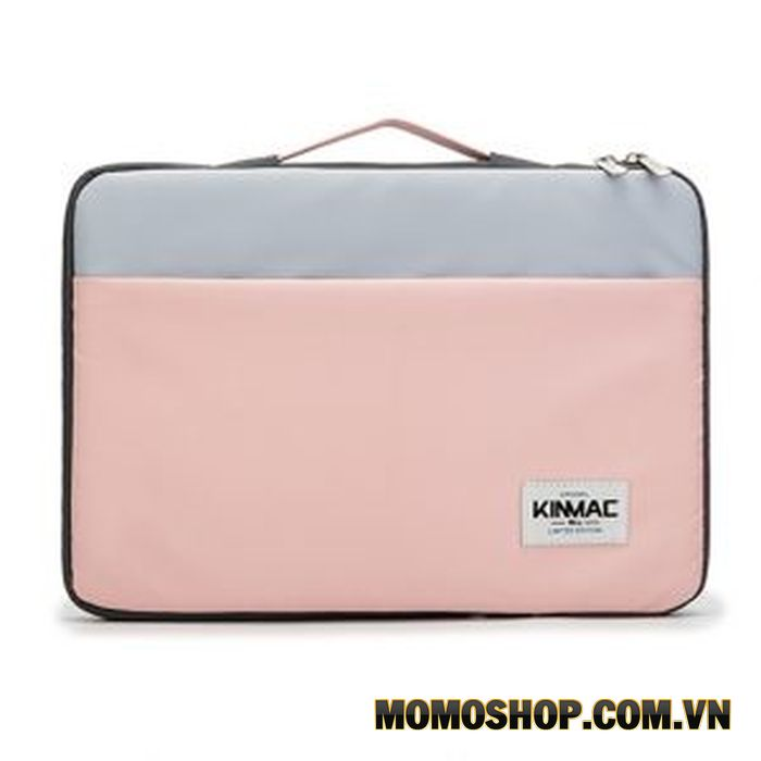 Túi xách Laptop nữ chống sốc KinMac – Hồng xanh – KM045