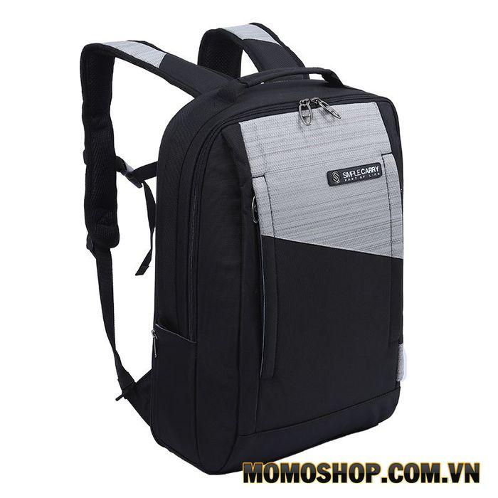 Balo laptop đi làm thiết kế đơn giản thời trang cao cấp Simple Carry