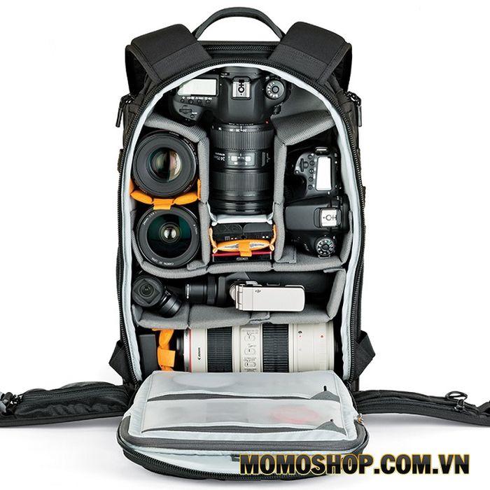 Balo laptop máy ảnh chống nước Lowepro Runner 350 AW
