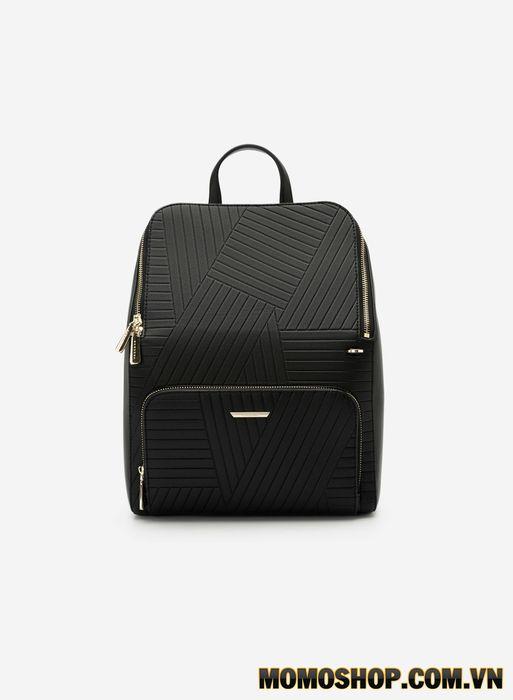 Balo Vascara Future Backpack với hoa văn nổi