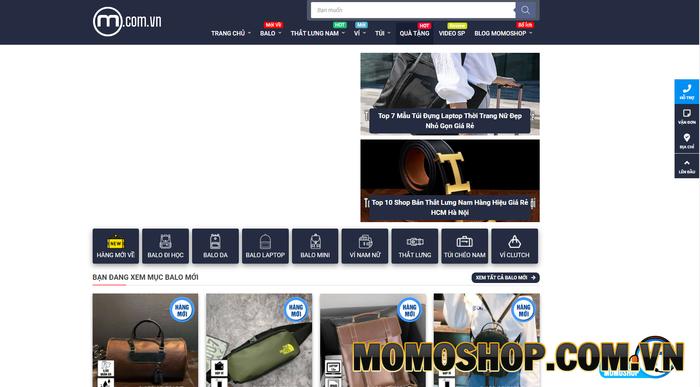Momoshop - Cung cấp các sản phẩm thắt lưng nam chất lượng, giá tốt