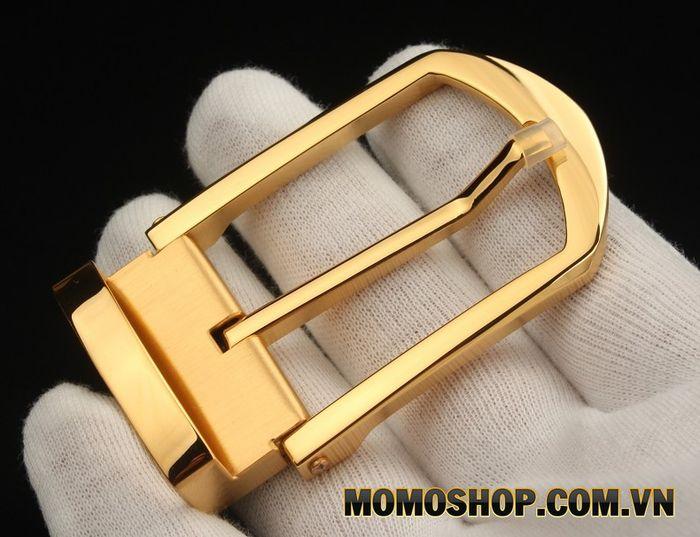 Đầu khóa thắt lưng loại khóa kim có kim loại
