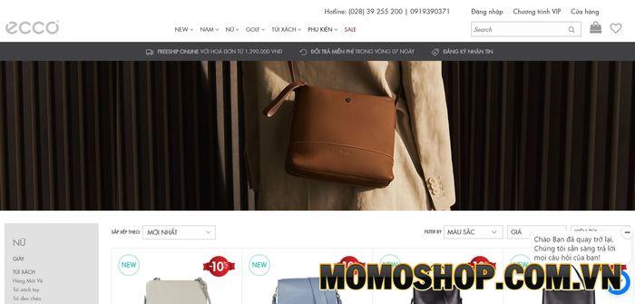 Ecco - Địa điểm mua túi đeo chéo tại Đà Nẵng được nhiều khách hàng yêu thích